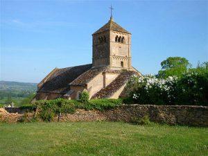 Eglise d'Ameugny Saône et Loire