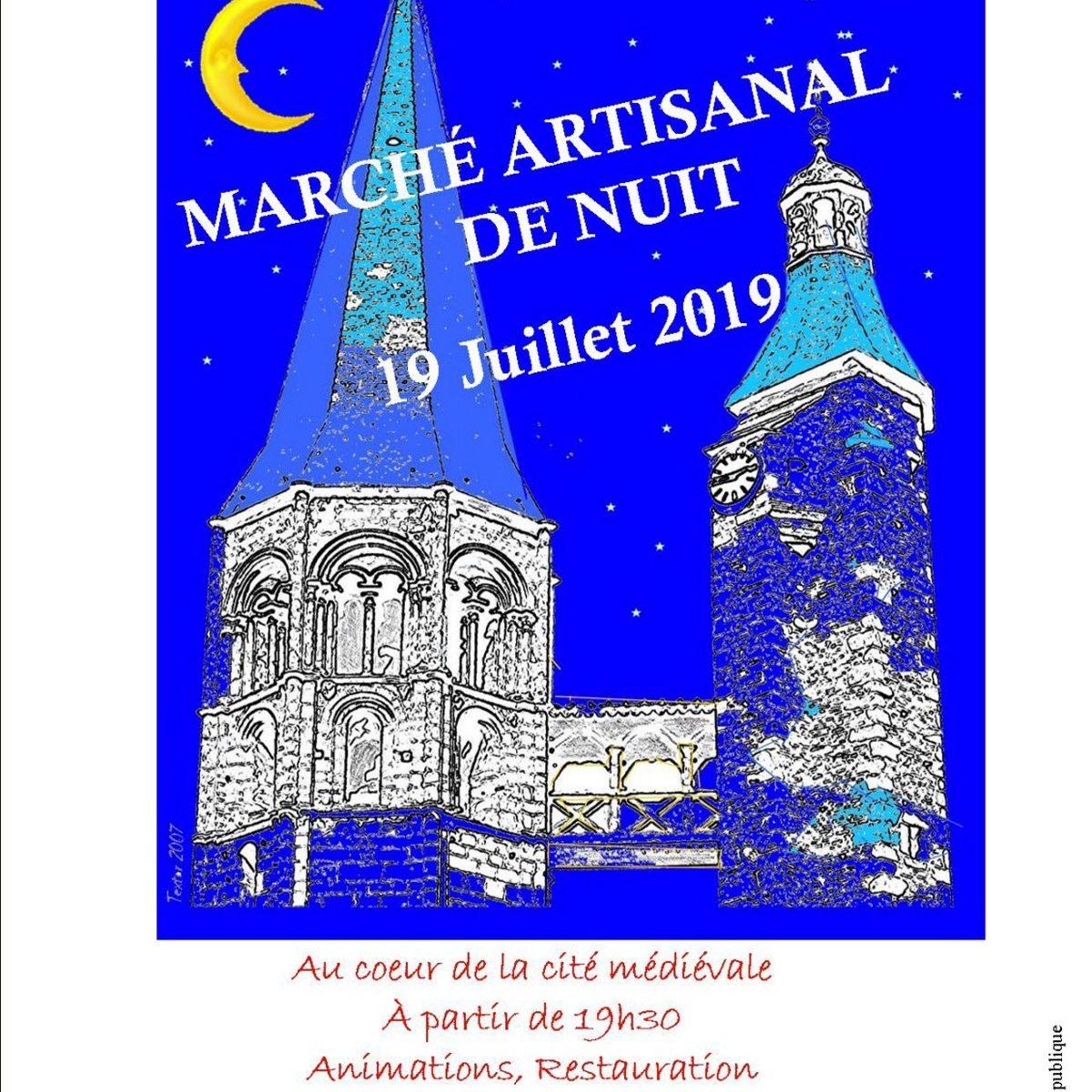 Marché artisanal de Saint Gengoux le National
