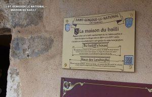 Promenade dans St Gengoux le National